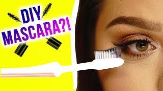 Karina Garcia and MayraTouchOfGlam test out DIY mascara!! They'll t...