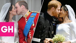 What the Royal Family Wore to Prince Harry and Prince William's Weddings | GH