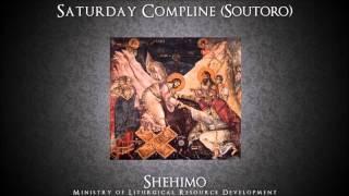 Saturday Compline (Soutoro) - Shehimo Recordings