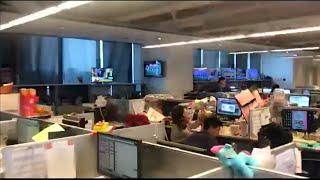 台湾でM6.1の地震発生 現地テレビ局の地震の瞬間