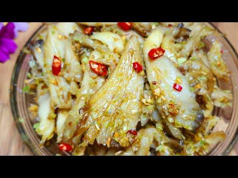 Món Chay Ngon - Cách làm Nấm Bào ngư xào sả ớt thơm ngon Món chay dễ làm
