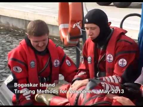 Russian voluntary Maritime Rescue society Kronstadt