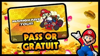 MARIO KART TOUR : OBTENIR LE PASS OR GRATUITEMENT !