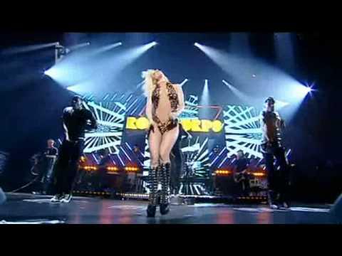 Lady Gaga Poker Face Live At Orange Rockcorps Youtube