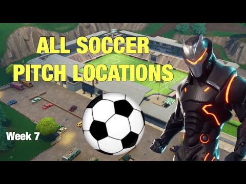 "ALL SOCCER PITCH LOCATIONS! ""Score A Goal On Different Pitches"" WEEK 7 Challenge"