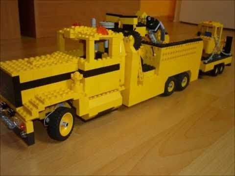lego technic eigenbau lkw us truck baustellenfahrzeug 12. Black Bedroom Furniture Sets. Home Design Ideas