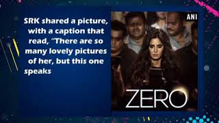 On Katrina's birthday, Shah Rukh Khan unveils her first look from Zero