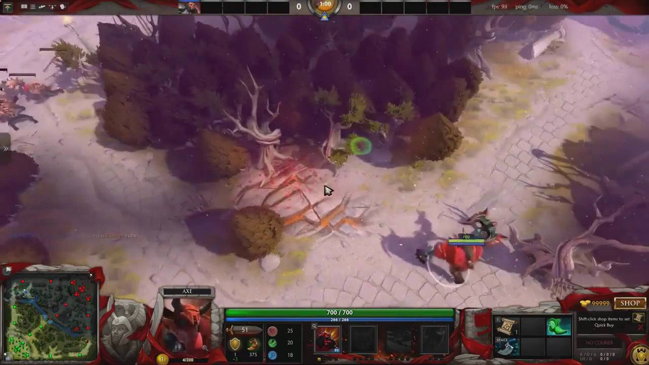 immortal gardens map ti6 dota 2 demo map youtube