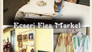 What can I get from the biggest flea market in Central Europe?/Esceri Flea Market