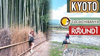 🇯🇵 JAPAN   KYOTO Arashiyama Bamboo grove, CoCo CURRY & ROUND 1 Arcade (Travel Vlog Part 3)