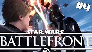 LEIA JE PIPINA! - Star Wars Battlefront Gameplay #4 w/Bauchyc!