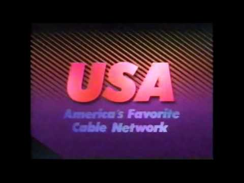 1989 USA ID (America's Favorite Cable Network)