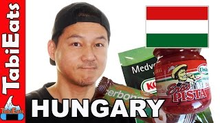 Japanese Try Hungarian Food for the First Time (PT 2)