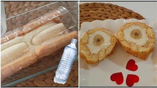 SU Şişesinde PASTA Nasıl Yapılır?Kolay Rulo Pasta-Deneysel  Çalışmalar