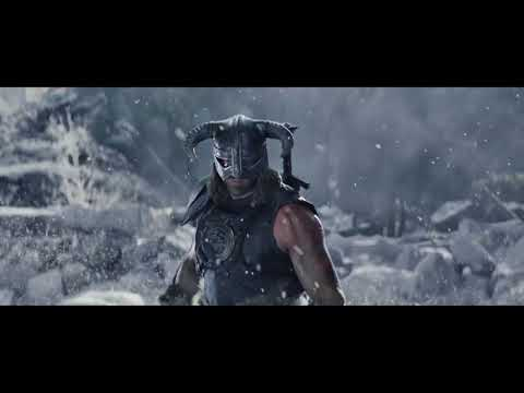 *EPIC DOVAHKIIN !! music DRAGONBORN by Jeremy Soule - cinematic Skyrim - FUSRODAHH!!