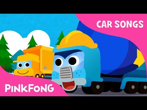 Super Trucks | Car Songs | PINKFONG Songs for Children