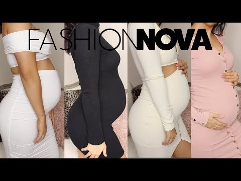 FASHION NOVA HAUL | PREGNANCY EDITION!!