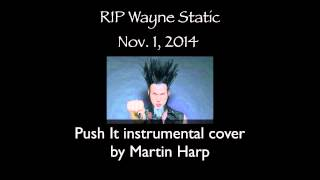 Static-X - Push It Instrumental cover by Martin Harp