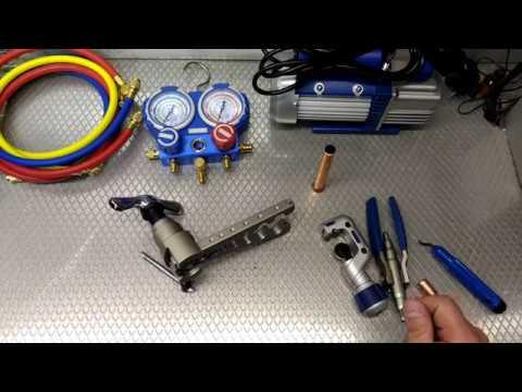 Набор инструмента для монтажа кондиционера. 2я серия.