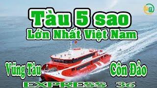 Lần đầu đi tàu 5 sao 80 tỷ siêu đẹp lớn nhất Việt Nam | Vũng Tàu - Côn Đảo | La Cà Tập 20