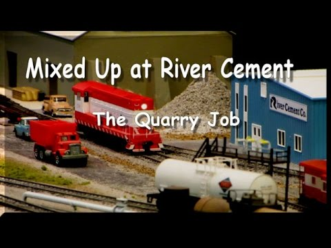 Model Railroad Ops: Mixed Up at River Cement