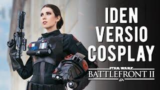 Iden Versio Cosplay - EA Star Wars Battlefront II