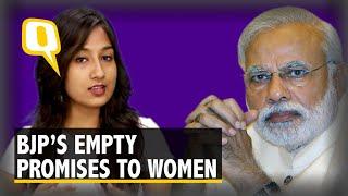BJP & PM Modi's 2014 Promises to Women Remain Empty in 2018
