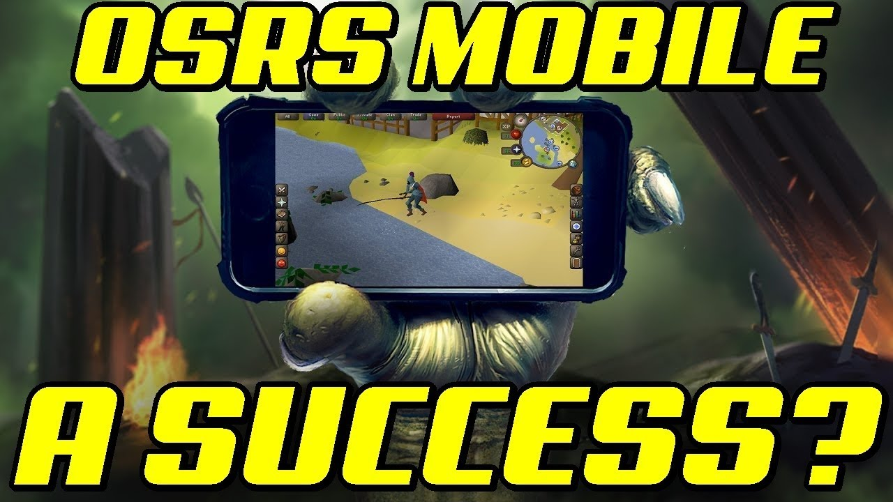 Will OSRS Mobile be Successful? │Oldschool Runescape 2007