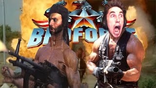 ULTIMATE BRO GAME!! BROFORCE Co-op Multiplayer w/ Wade