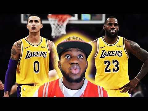 IS KUZMA(NIA) SHOWING LA HES THEIR 2ND BEST PLAYER!? Lakers vs Detroit Highlights | *REACTION*