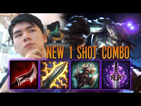 NEW 1 SHOT COMBO ON TRYNDAMERE MAKES HIM AN ASSASSIN [ DOUBLE TAP COMBO ]