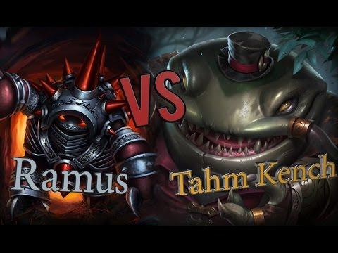 Ramus Jungle Vs Tahm Kench/ Рамус джангл против ТААМ КЕНЧ