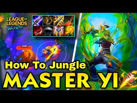 Master Yi Wildrift Full Guide   How To Jungle In Wildrift   Tutorial