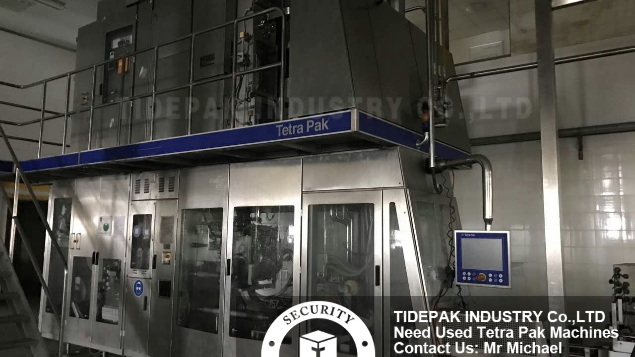 Tetra Pak A3 Speed filling machine 250ml Used For Sale Second Hand Tetra  Pack A3 juice filling line