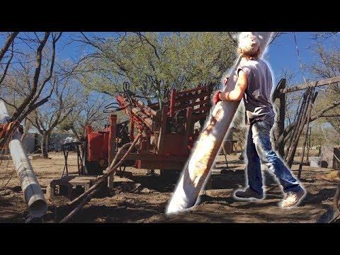 Protective Casing And Upgrading The Drill | Drilling a Well Part 4