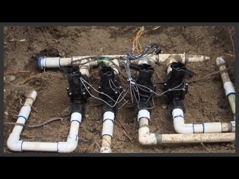 How To Replace Sprinkler Valves You