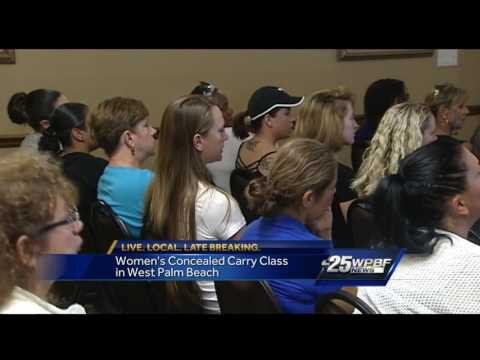 Women's concealed carry class in West Palm Beach
