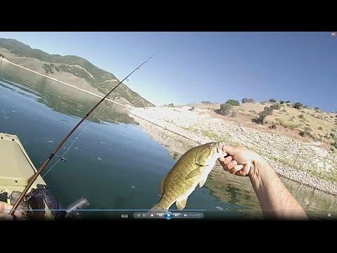 Hobie Pro Angler Smallmouth Bass East Canyon Kayak Fishing