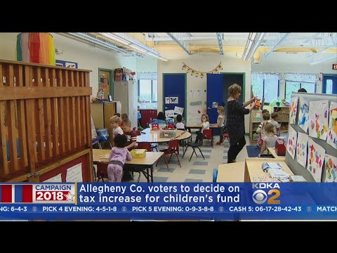 Allegheny County Residents To Vote On Tax Hike For Children's Fund
