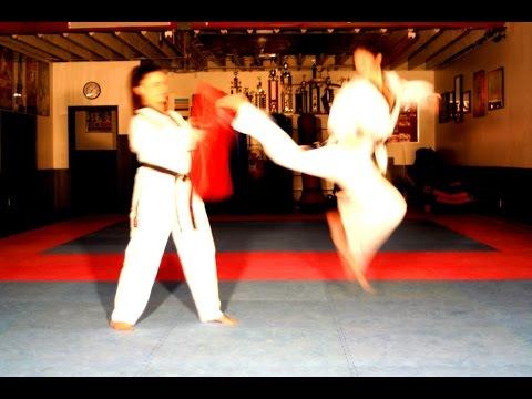 TaeKwonDo Black Belt Aycka Lima from Lima Academy Culver City, CA