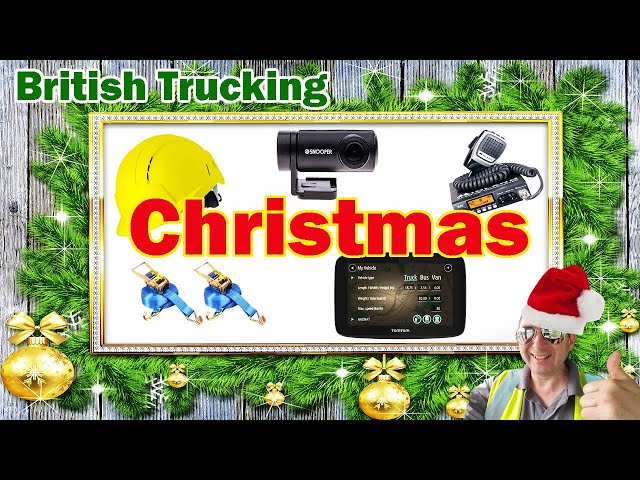 Have a British Trucking Christmas