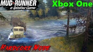 SpinTires Mud Runner: Xbox One HARDCORE MODE Let