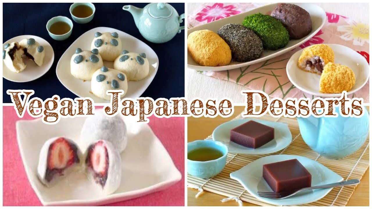vegan japanese dessert recipe Top 1 Vegan Japanese Desserts Recipes  OCHIKERON  Create Eat Happy :)