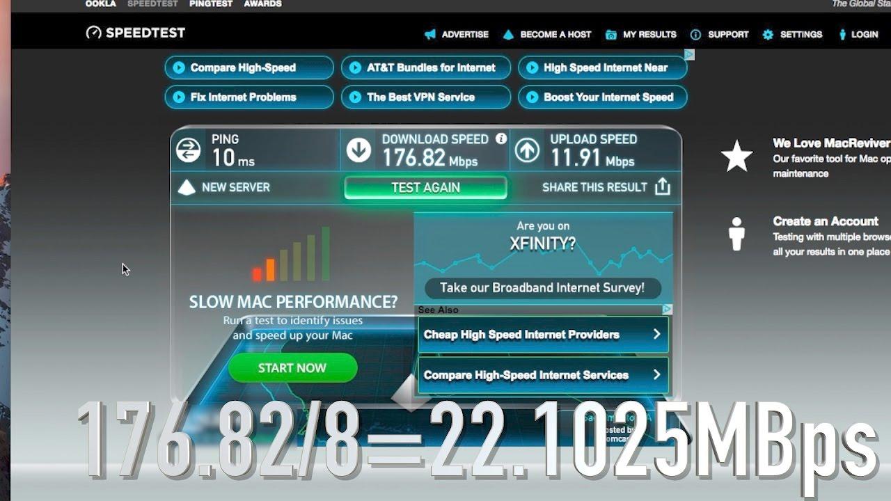 How to achieve Xfinity Blast Pro Optimal Speed & speedtest