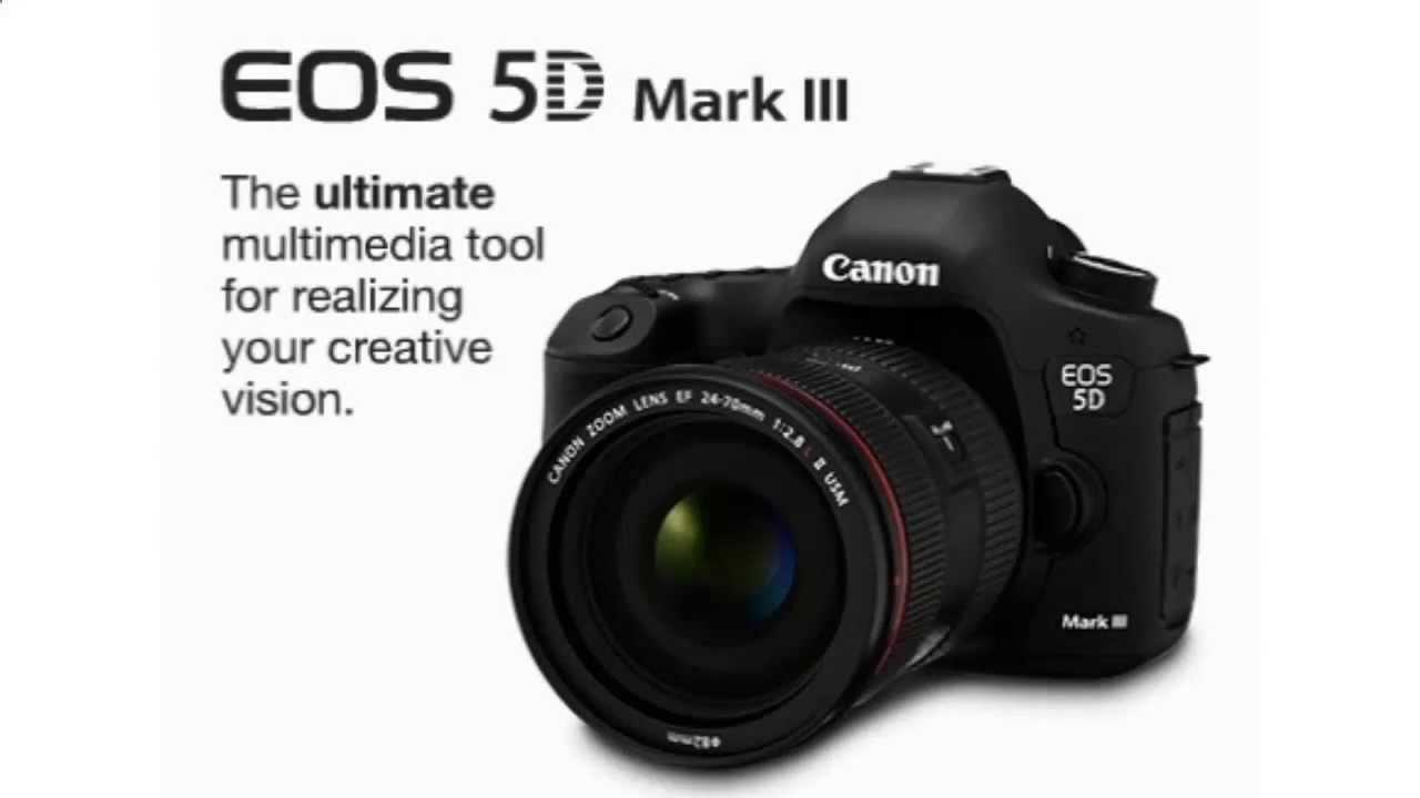 Canon EOS 5D Mark III 22.3 MP Full Frame CMOS Digital SLR ...