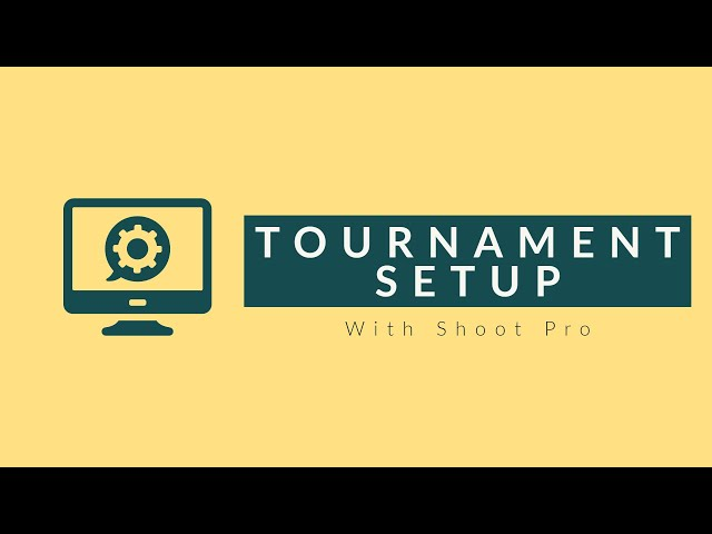 Tournament Setup | 3S Shooting Sports Software