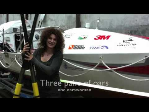 Extreme Tough: Solo ROWING across the Atlantic Ocean. Portugal - Antigua (GaGa) in 4 months.