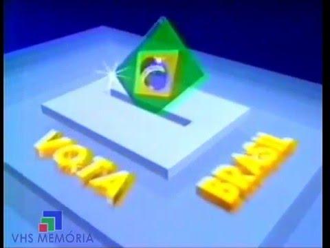 Vinheta Vota Brasil - Rede Manchete (1990)