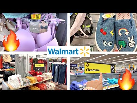 WALMART CLEARANCE SHOPPING!!!🔥$5 AND UNDER SHOES, CLOTHES + HIDDEN CLEARANCE!!!