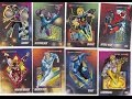 1992 Marvel Universe Series 3 Trading Card Set with Holograms - X-Men Spiderman Iron Man & more